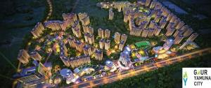 Gaur Yamuna City The Center Of Location Provides The Smooth