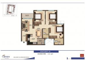 3 Bhk Apartment For Sale In Electronic City BDA Approved