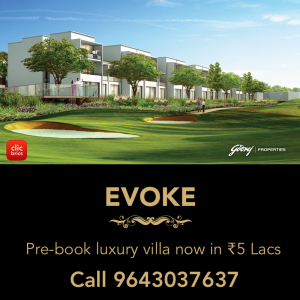 Godrej Evoke Limited Edition Luxury Villas In Noida