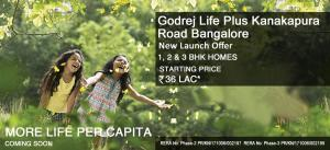 Godrej Life Plus Price Starting From 36Lac Onwards