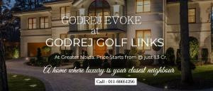 Godrej Evoke Greater Noida - Book Now And Depart For You Int