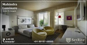 Mahindra Luminare Apartments Sector 59 Gurgaon +91-90157-050
