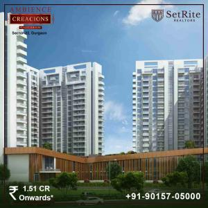Ambience Creacions Apartments Sector 22 Gurgaon +91-90157-05