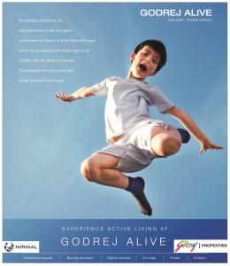 Experience Active Living At Godrej Alive Mulund Thane