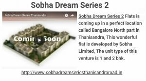 Sobha Dream Series 2 Property For Sale