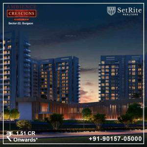Ambience Creacions Apartments Sector 22 Gurgaon 9015705000