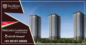 Mahindra Lifespaces Luminare Apartments Resale Price List