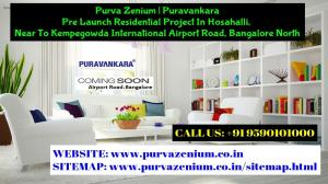 Purva Zenium Near Airport Road Bangalore