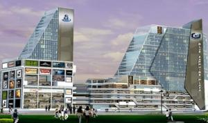 Galaxy Blue Sapphire Plaza Offers Commercial Spaces. 9711836846